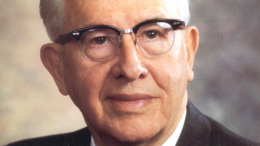 Ezra Taft Benson of the Council of the Twelve
