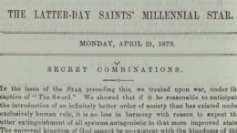 Latter-day Saints' Millennial Star, April 21, 1879