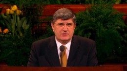 Elder Wolfgang H. Paul speaking in General Conference, April 2006