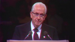 Ezra Taft Benson speaks in General Conference, October 1973