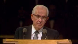 Ezra Taft Benson Speaks in General Conference, October 1980