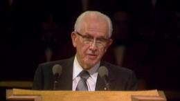 Ezra Taft Benson Speaks in General Conference, October 1980