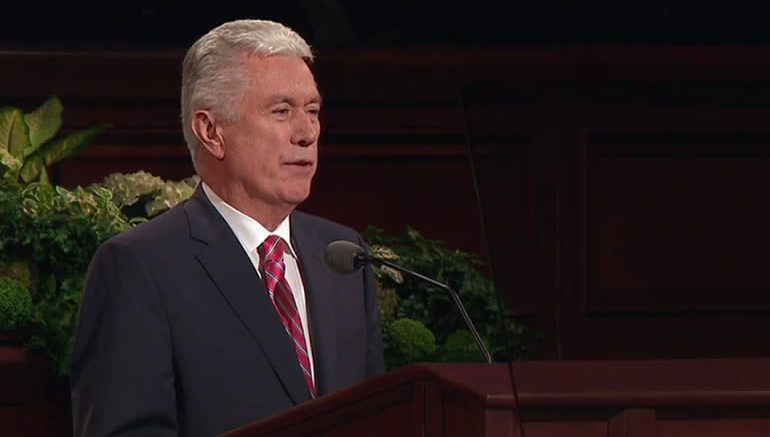 President Dieter F Uchtdorf, General Conference April 2017