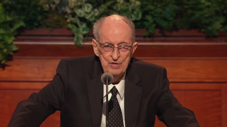 Elder Robert D. Hales, April 2017