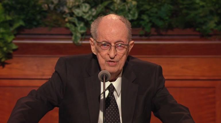 Elder Robert D. Hales, April 2017